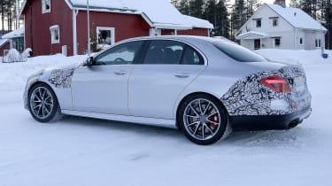 Mercedes-AMG E63 spy - rear