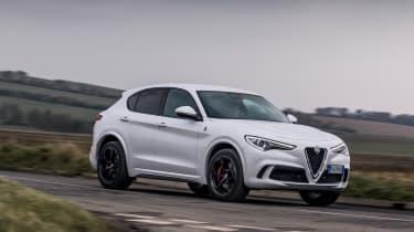 Alfa Romeo Stelvio Quadrifoglio - front