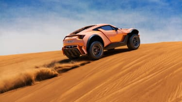 Zarooq Sandracer 500GT - rear sand dune
