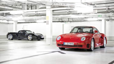 Porsche Carrera GT & 959 - static