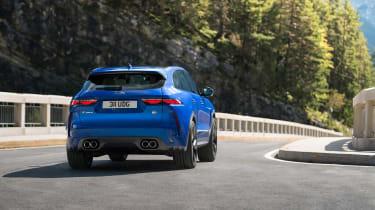 Jaguar F-Pace SVR 2021 rear
