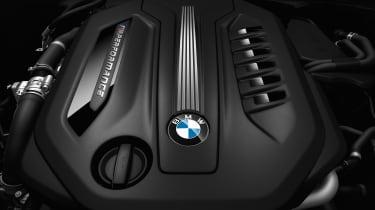 BMW M550d xDrive engine