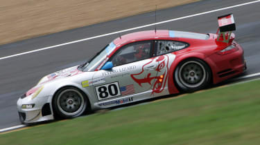Porsche 911 GT3 at Le Mans