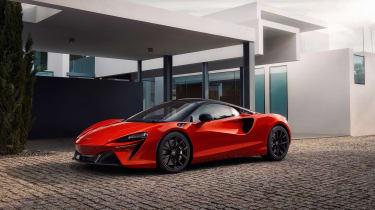 McLaren Artura revealed - orange static