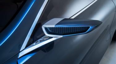 BMW 8-series concept - mirror