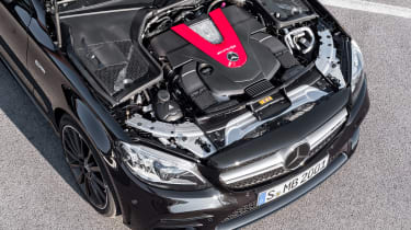 Mercedes-AMG C43 Coupe - engine