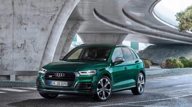 Audi SQ5 TDI 2019 - front quarter