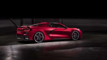 2020 Chevrolet Corvette C8 rear