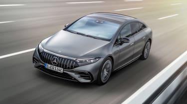 Mercedes-AMG EQS53 – front quarter