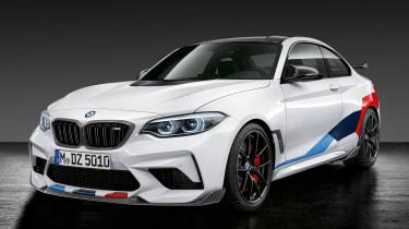 BMW M2 Competition M performance Parts – front quarter