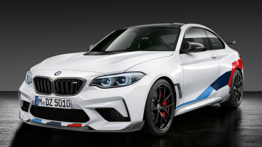 BMW M2 Competition M performance Parts – front quarter