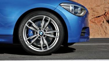 2012 BMW M135i alloy wheel