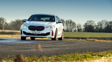 BMW 128ti - front cornering