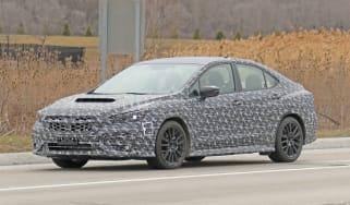 2021 Subaru WRX spied - front quarter