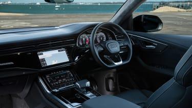 Audi SQ8 TFSI 2021 – interior