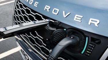 Range Rover P400e PHEV charging