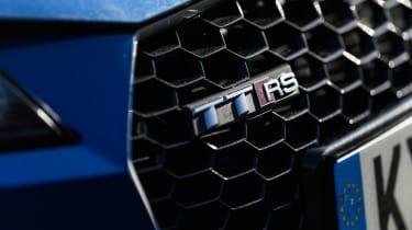 Audi TT RS badge