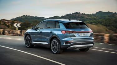 Audi Q4 e-tron – rear tracking