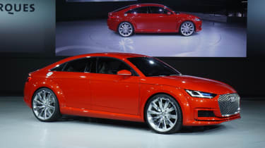 Audi TT Sportback at the 2014 Paris motor show