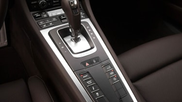Porsche 911 Carrera 4 PDK transmission gear selector