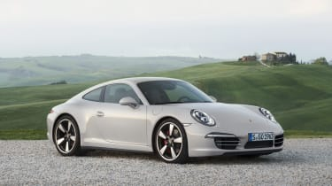 Porsche 911 50th Anniversary Edition front view