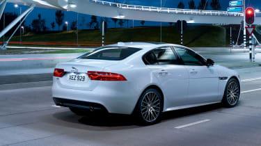 Jaguar XE Landmark - rear quarter