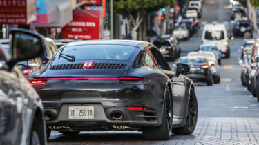 992 Porsche 911 Carrera S prototype - rear