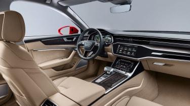 Audi A6 2018 - front interior