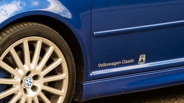 Volkswagen Golf R32 detail