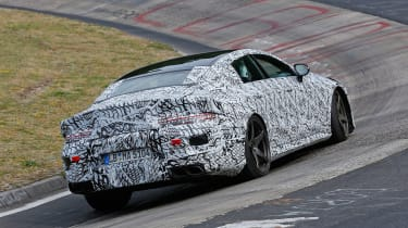 Mercedes-AMG GT Concept SPY - rear