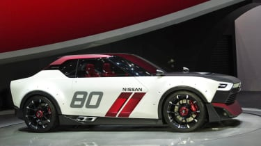 Nissan IDx Nismo concept side profile