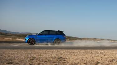 Range Rover Sport SVR - profile