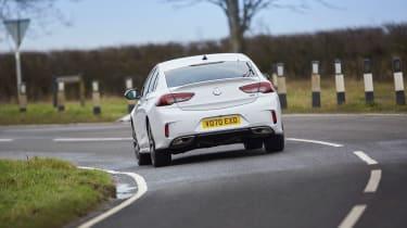 Vauxhall Insignia GSi – rear cornering