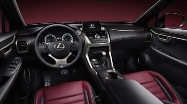 Lexus NX SUV revealed