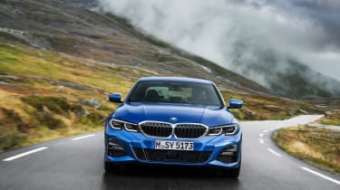 BMW 3-series review - nose