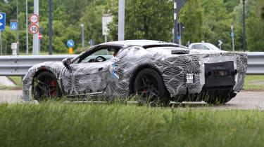 Ferrari F171 spy 2021 – rear quarter 3