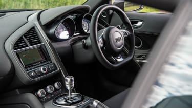 Audi R8 Plus interior