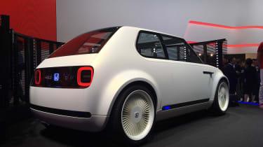 Honda Urban EV Concept live - rear quarter