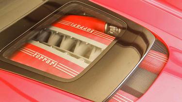 Ferrari F12 TRS engine cover window