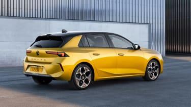 All-new Vauxhall Astra – rear quarter