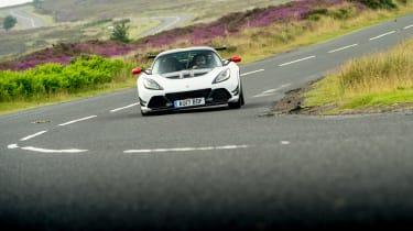 Lotus Exige 380 Cup - front cornering