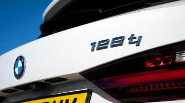 BMW 128ti - badge