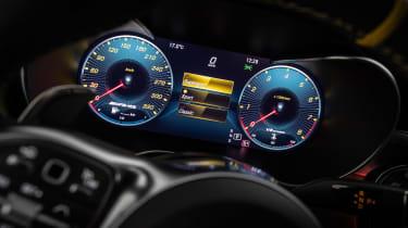 2019 Mercedes-AMG C63 – instrument display
