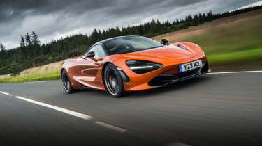 eCoty McLaren 720S - front tracking