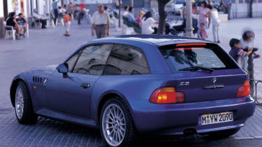 BMW Z3 M Coupe rear
