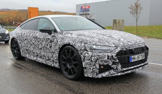 Audi RS7 body-on spy - rear quarter
