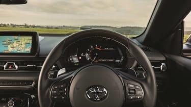 Toyota Supra 2.0 review - dials