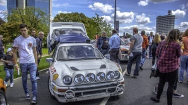 Coventry Motofest - Static display, Ford RS200