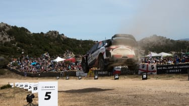 WRC Rally Sardinia - Toyota Yaris