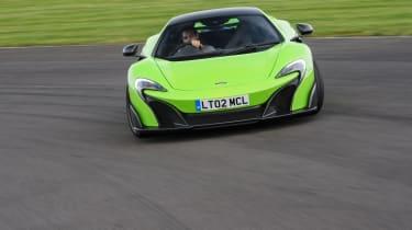 McLaren 675LT - front
